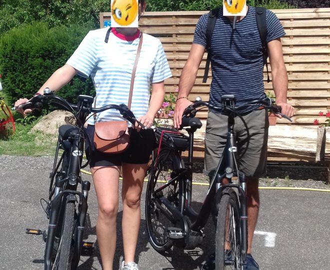 2 vélos vacanciers